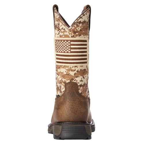 Patriot Work Boot Heel View