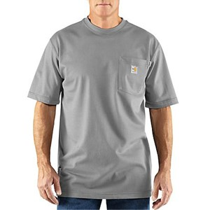 Carhartt Flame-Resistant FORCE Cotton Short-Sleeve T-Shirt