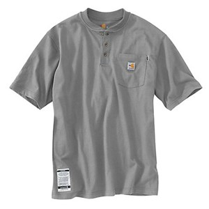 FR FORCE Cotton Short-Sleeve Henley