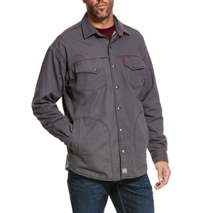 FR Rig Shirt Jacket in Gray