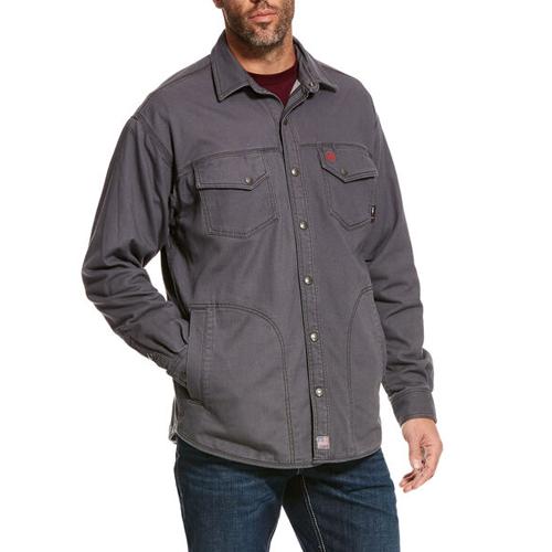 FR Rig Shirt Jacket in Gray
