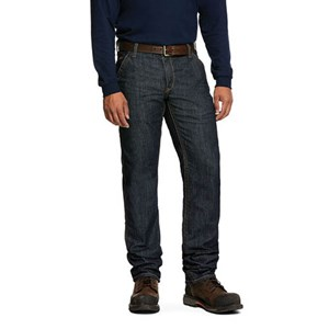 Ariat FR M4 Low Rise Stretch Duralight Workhorse Stackable Jean