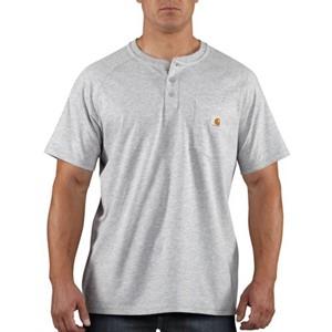 Carhartt Force Cotton Short-Sleeve Henley