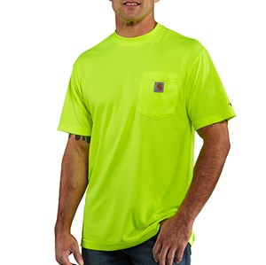 Force Color Enhanced Short Sleeve T-Shirt - Bright Lime