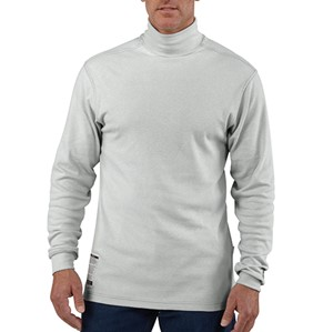 Flame-Resistant FORCE Cotton Long Sleeve Mock Turtleneck