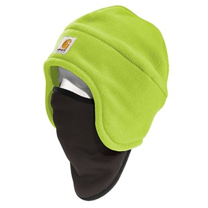 Hi-Vis Color Enhanced Fleece 2-in-1 Hat