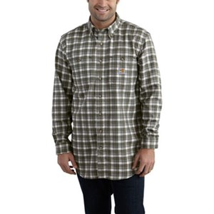 Carhartt Flame Resistant Plaid Shirt