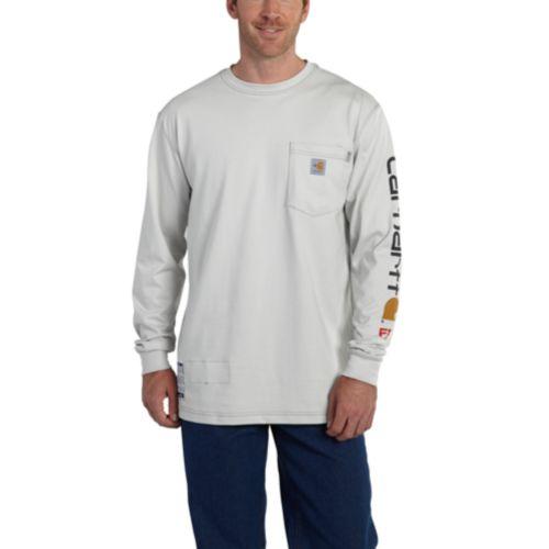Carhartt Force Graphic Long-Sleeve T-Shirt - 101153 51083eb0d8f