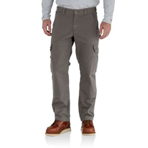 Ripstop Flannel Lined Cargo Work Pants
