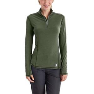 Women's Carhartt FORCE Ferndale 1/4-Zip Shirt