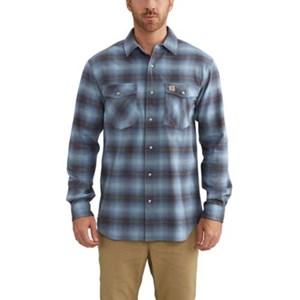 Carhartt Rugged Flex Hamilton Snap Front Plaid Shirt
