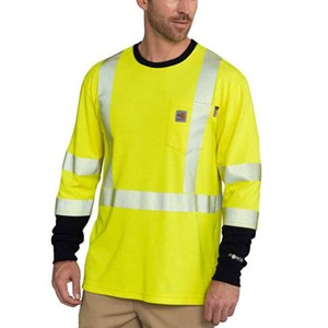 Carhartt FR Force Hi-Vis Long Sleeve Shirt