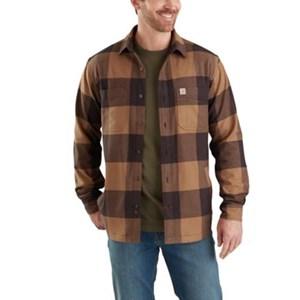 Rugged Flex Hamilton Fleece-Lined Shirt Jac