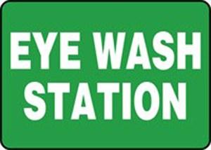 10X14 EYE WASH STATION Plastic