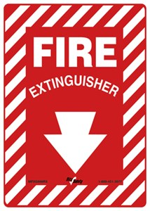 10X14 FIRE EXTINGUISHER
