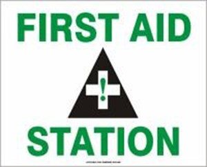 10X14 FIRST AID STATION Plastic