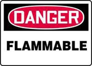 10X14 FLAMMABLE