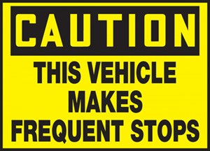 10x14 Frequent Stops Sticker