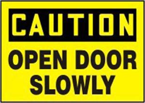10x14 OPEN DOOR SLOWLY