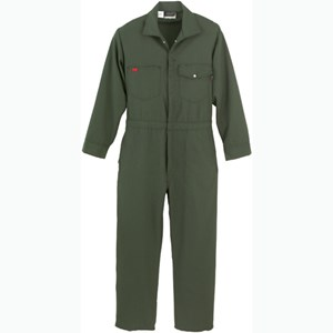 Industrial FR Coverall in 6.0 oz NOMEX IIIA in Spruce Green