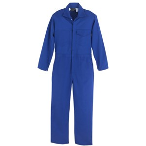 Flame Resistant 9.5 oz. Indura Coverall in Royal Blue