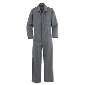 UltraSoft Flame Resistant Coverall in Gray