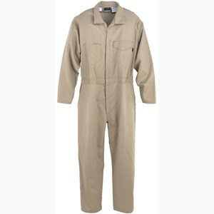 UltraSoft Flame Resistant Coverall in Khaki