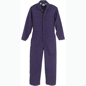 UltraSoft Flame Resistant Coverall in Navy