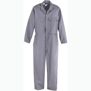 Flame Resistant Coverall in 9.5 oz UltraSoft in Charcoal