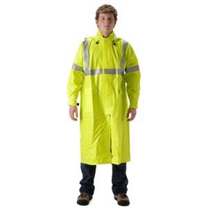 "Arclite HiVis 1500 Series 48"" FR Rain Coat  - XL ONLY"