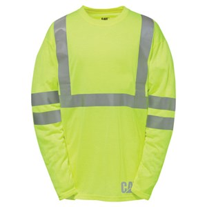 CAT Hi-Vis Long Sleeve Shirt