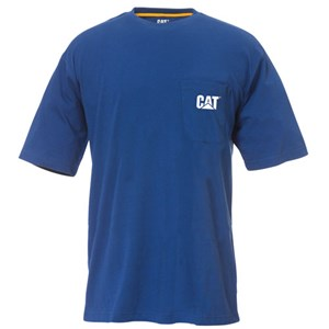 CAT Logo Pocket T-Shirt
