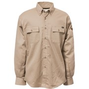 Work Shirt with Stretch Panels