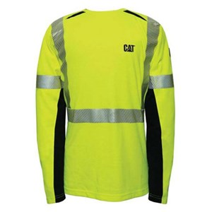 Hi-Vis Long Sleeve Performance Crew