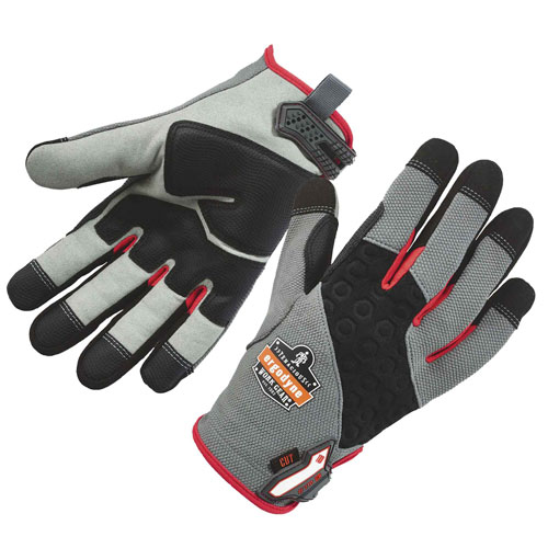Voltage Rated Gloves : Proflex cr heavy duty cut resistant gloves