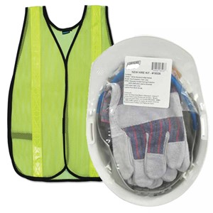 New Hire Kit- Including Safety Vest