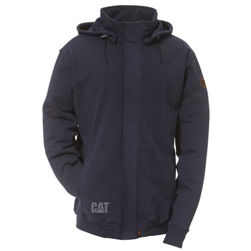 Full Zip Sweatshirt with Removable Hood