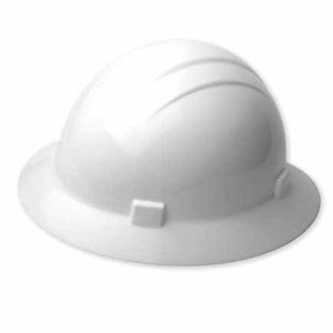 Americana Heat Hard Hat, 4-pt. ratchet suspension Full Brim