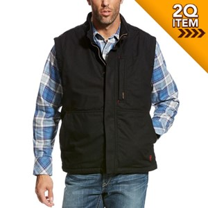 Ariat FR Workhorse Vest in Black