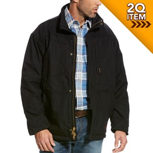 Ariat FR Workhorse Jacket in Black