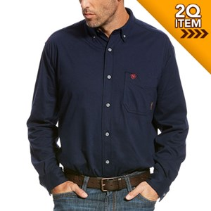 Ariat FR AC Work Shirt in Navy
