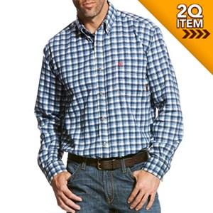 Ariat FR Santa Fe Work Shirt in Multi