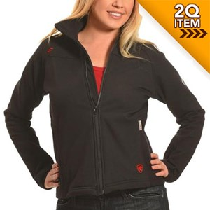 Women's FR PolarTec Platform Jacket in Black