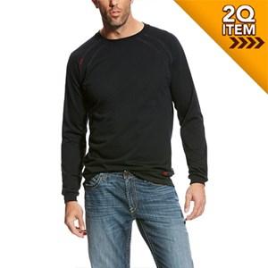 Ariat FR Work Crew T-Shirt in Black