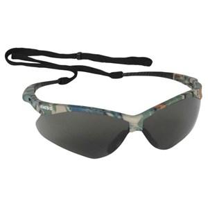 Nemesis Safety Glasses Camo/Smoke