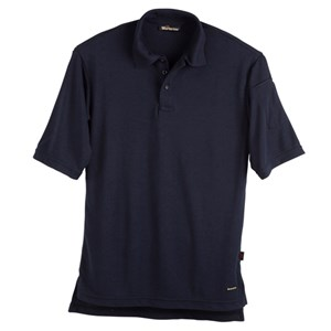 Workrite Short Sleeve FR Polo in Navy