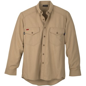 Workrite FR Dress Shirt in CXP of Nomex