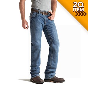 Ariat FR M3 Loose Cut Jean in Flint