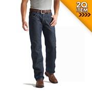 Ariat FR M3 Loose Cut Jean in Shale