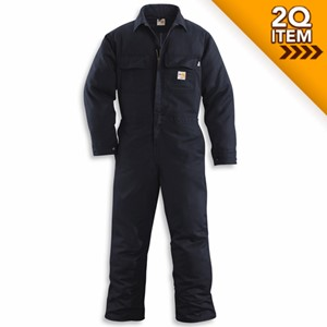 Carhartt FR Work Coverall in Dark Navy